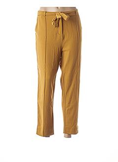 Pantalon chic jaune VILA pour femme