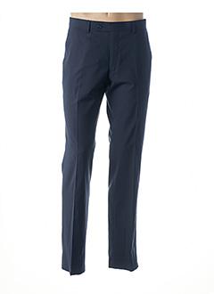 Pantalon chic bleu DANIEL HECHTER pour homme