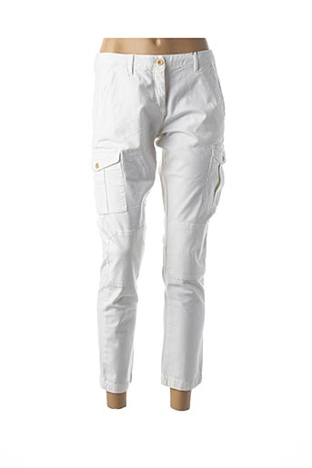 Pantalon 7/8 blanc GANT pour femme