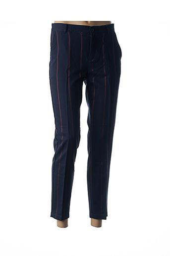 Pantalon chic bleu HARRIS WILSON pour femme
