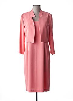 Veste/robe orange JEAN DELFIN pour femme