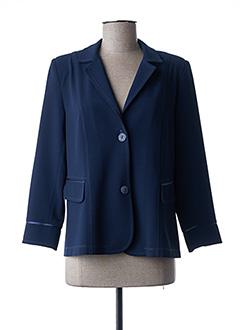 Veste casual bleu ELSSA pour femme