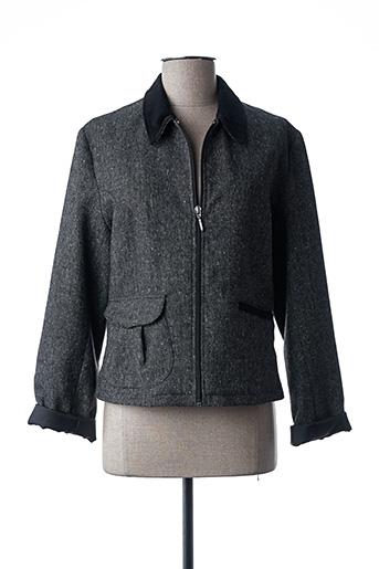 Veste casual gris CHRISMAS'S pour femme