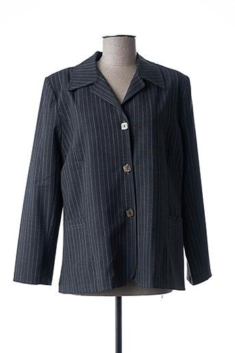 Veste casual gris ELSSA pour femme