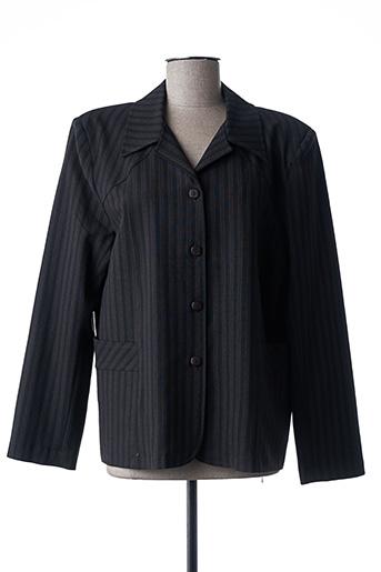 Veste casual noir ELSSA pour femme