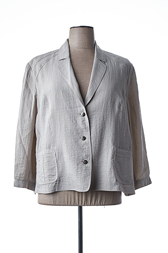 Veste chic / Blazer beige JEAN DELFIN pour femme