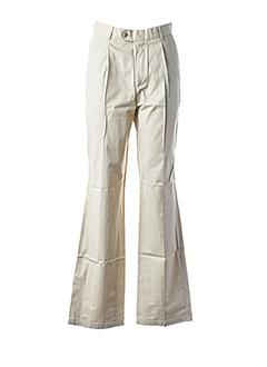 Pantalon chic beige EDEN PARK pour homme
