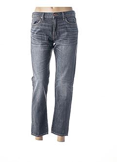 Jeans boyfriend gris RALPH LAUREN pour femme