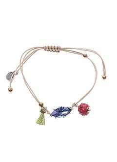 Bracelet beige FRANCK HERVAL pour femme