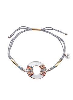 Bracelet gris FRANCK HERVAL pour femme