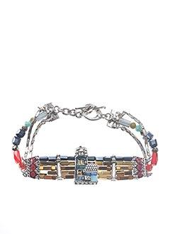 Bracelet gris TARATATA pour femme