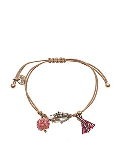 Bracelet marron FRANCK HERVAL pour femme