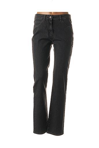 Jeans coupe slim gris DESAIVRE pour femme