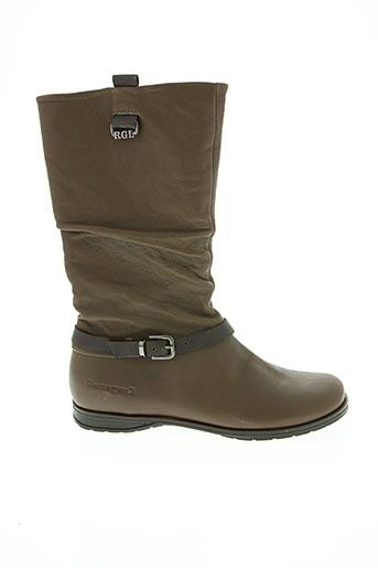 Bottines/Boots marron ROMAGNOLI pour femme