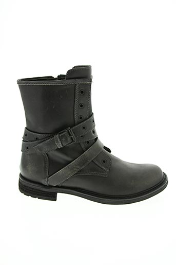 Bottines/Boots gris CAN BE pour fille
