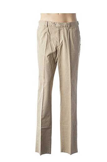 Pantalon casual beige INFLUX pour homme