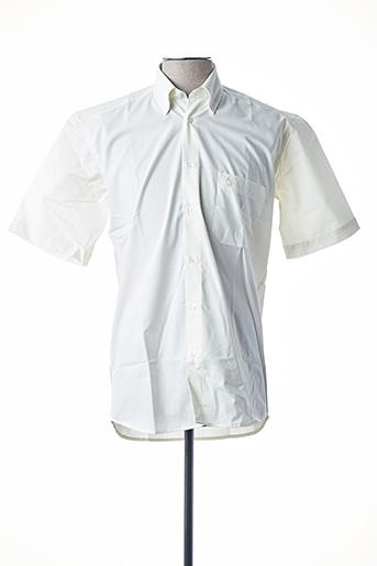 Chemise manches courtes jaune BANDE ORIGINALE pour homme