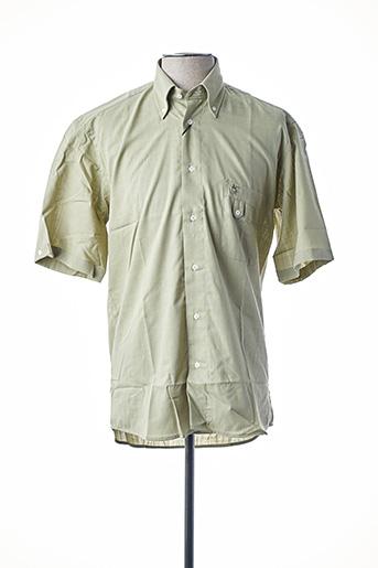 Chemise manches courtes vert BANDE ORIGINALE pour homme