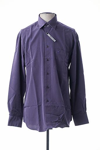 Chemise manches longues violet BANDE ORIGINALE pour homme