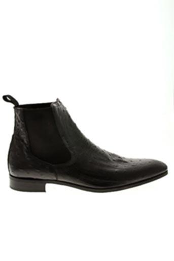 Bottines/Boots noir BAXTON pour homme