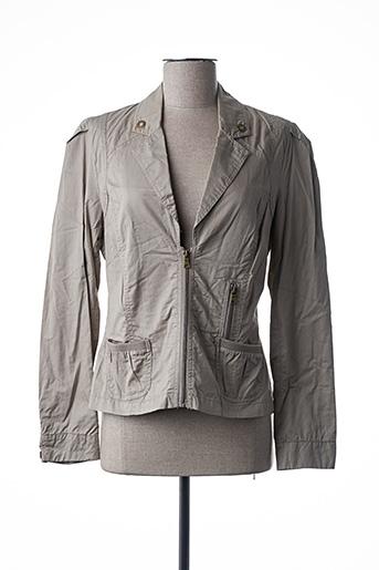 Veste casual beige BRANDTEX pour femme