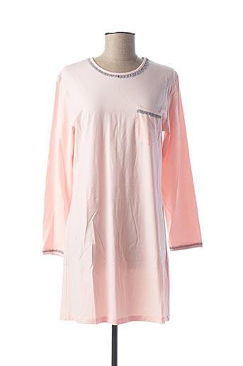 Chemise de nuit rose ROSE POMME pour femme