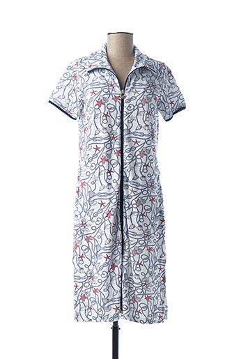 Robe de chambre bleu VAMP pour femme