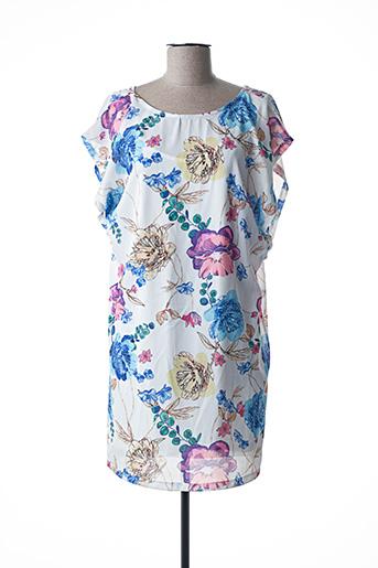 Robe courte bleu ARTIGLI pour femme