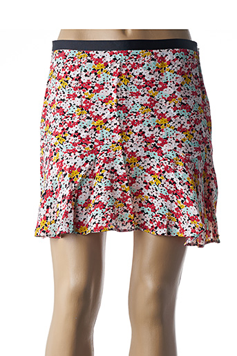 Jupe courte rouge I.CODE (By IKKS) pour femme