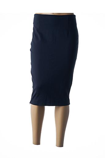 Jupe mi-longue bleu KOCCA pour femme