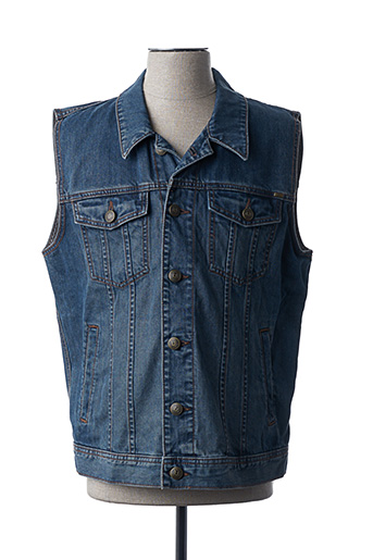 Veste en jean bleu PADDOCK'S pour homme