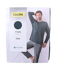 Pyjama bleu CALIDA pour homme