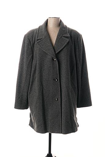Manteau long gris WEINBERG pour femme