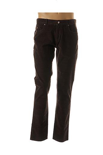 Pantalon casual marron ABEYRON pour homme