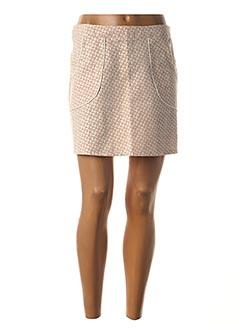Jupe courte rose DROLATIC pour femme