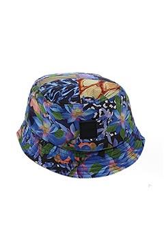 Chapeau bleu UNKUT pour homme