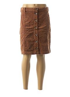 Jupe mi-longue marron CREAM pour femme