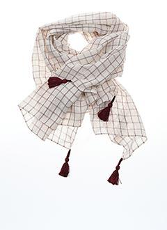 Foulard rouge DES PETITS HAUTS pour femme