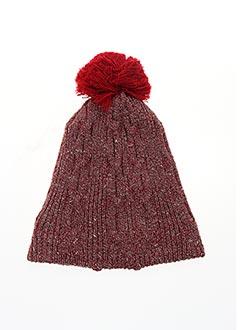 Bonnet rouge BERTHE AUX GRANDS PIEDS pour femme