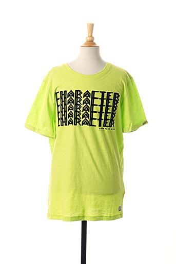 T-shirt manches courtes vert GARCIA pour garçon