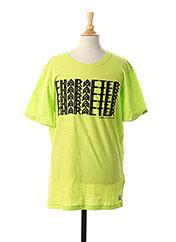 T-shirt manches courtes vert GARCIA pour garçon seconde vue