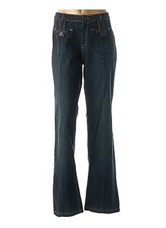 Jeans coupe large bleu FRED SABATIER pour femme