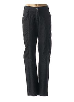 Jeans coupe large noir SALT & PEPPER pour femme