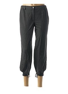 Pantalon 7/8 gris FRED PERRY pour femme