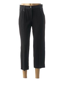 Pantalon 7/8 noir FRED SABATIER pour femme