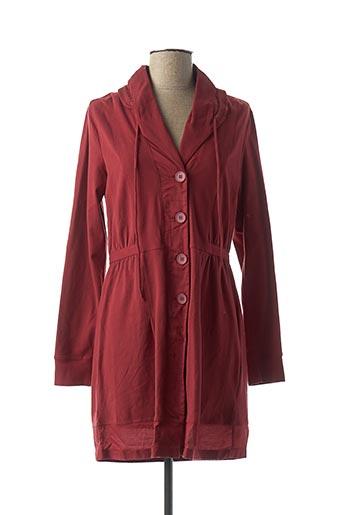 Veste casual rouge SANDWICH pour femme