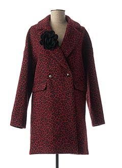 Manteau long rouge LIU JO pour femme