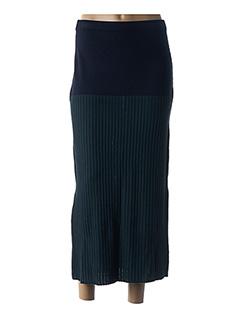 Jupe longue bleu LEO & UGO pour femme