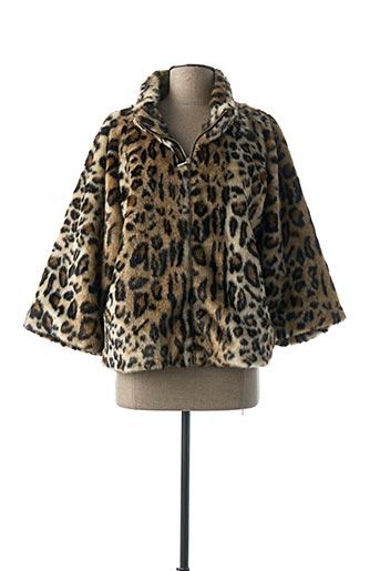 Manteau court beige I BLUES pour femme