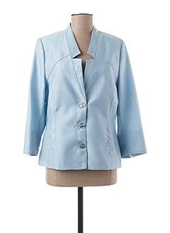 Veste chic / Blazer bleu GUY DUBOUIS pour femme